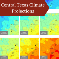 Central Texas Climate Projections